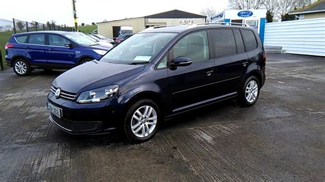 Vw Touran Verkaufsinserat by 2014 Vw Touran 1 6 Tdi 7 Seater Www Healysautos Ie