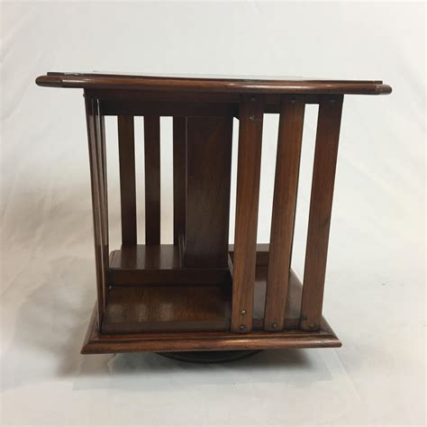 Table Top Bookcase by Edwardian Mahogany Table Top Revolving Bookcase Antique