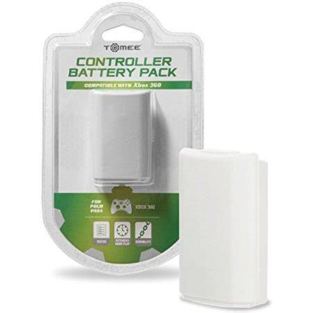 tomee controller battery pack white  microsoft xbox
