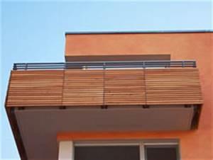Balkonverkleidung Aus Holz : fertigbalkone aus stahl oder holz preise ~ Lizthompson.info Haus und Dekorationen