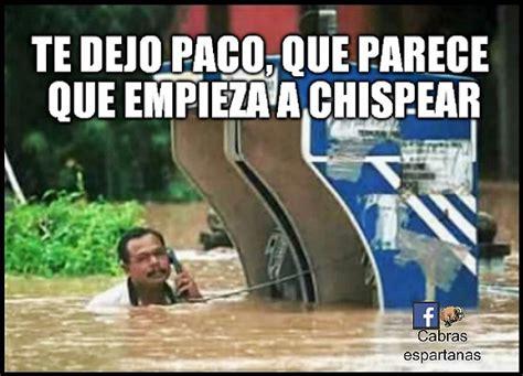 Memes De Lluvias - meme lluvia cabras espartanas