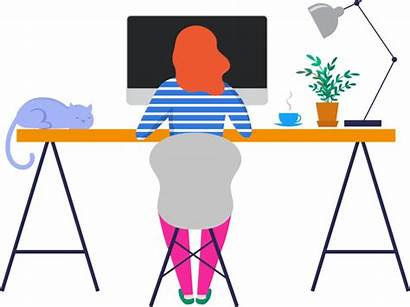 Working Transparent Clipart Office Teaching While Jobs
