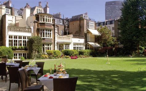 the best london hotels with gardens telegraph travel