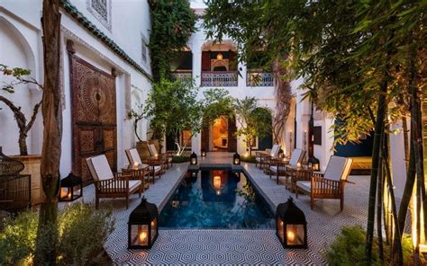 amazing riads  marrakech  pictures telegraph travel
