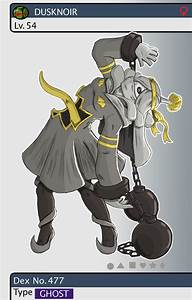Gijinka Pokemon 477 Dusknoir by saurodinus on DeviantArt
