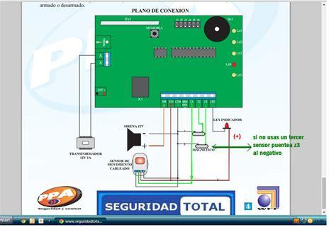 solucionado diagrama para conectar sensores sirena magneto receptor yoreparo