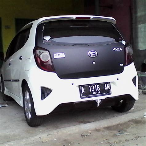 Toyota Agya Modification by Jual Modifikasi Toyota Agya Sparepart Mobil Murah