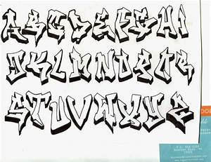 Gangster Graffiti Letters - Graffiti Art