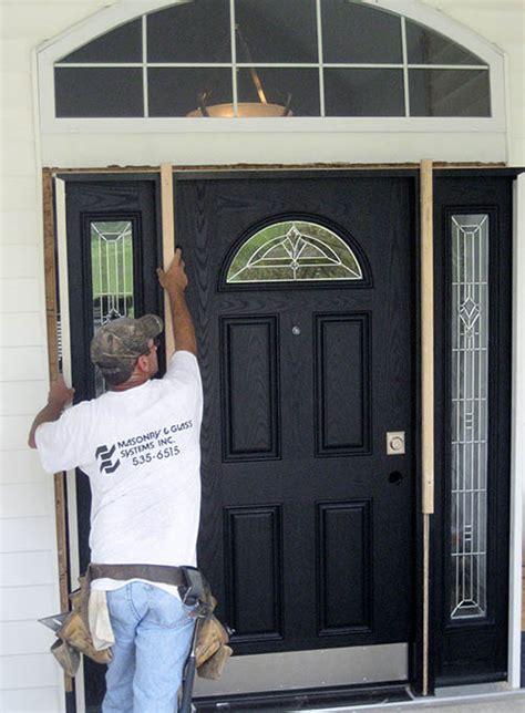 ada compliant custom entry doors st louis masonry