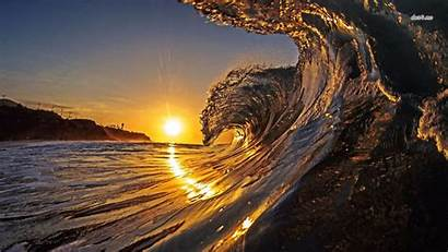 4k Ultra Sunset Wallpapers Wave Collections Amazing