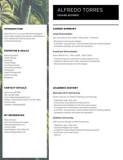 Modern Resumes by Customize 864 Modern Resume Templates Canva