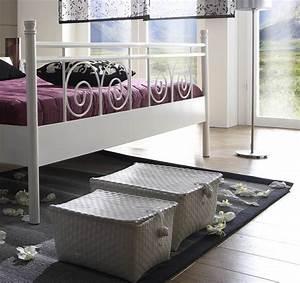 Metallbett Weiß : sam metallbett wei 180 x 200 cm rhodos g nstig ~ Pilothousefishingboats.com Haus und Dekorationen