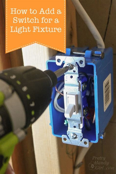 how to add a pull chain to a light fixture how to add a switch to a light fixture pretty handy