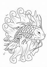 Koi Fish Coloring Fisch Pond Ausmalbilder Printable Japanesekoigardens Momjunction Parentune Adult Sheets sketch template