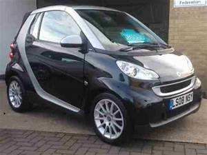 Smart 2008 08 Fortwo Cabrio 1 0 Passion 2d Auto 70 Bhp  Car For Sale