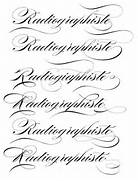 Type Of Letters Writing Lettercentric Type As Writing