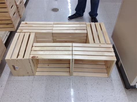 And since she didn't have access to actual vintage. Livingston Way: DIY Wine Crate Coffee Table