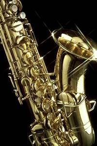 Shiny Saxophone iPhone Wallpaper | iDesign iPhone
