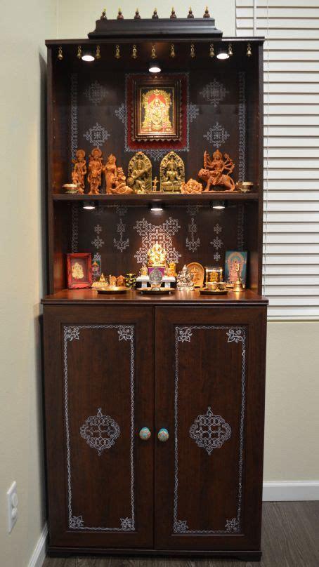 corner  god resides pooja room design