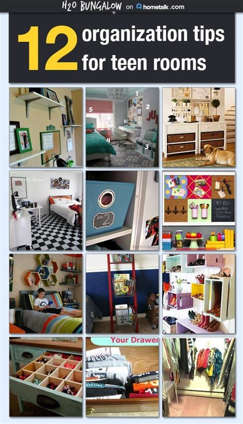 smart tips  organizing teen rooms