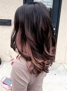 Ombré Hair Chatain : ombr hair sur base brune la couleur qui cartonne en ~ Dallasstarsshop.com Idées de Décoration