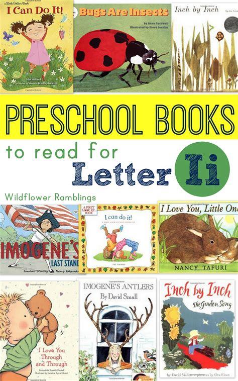 preschool books for letter i wildflower ramblings 198 | books 001