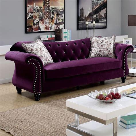 plum sofa decorating ideas plum colored sofas furniture warm purple sofa to complete