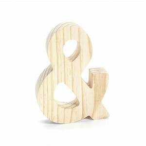 chunky unfinished wood letter ampersand symbol 7 3 4 With 4 inch unfinished wood letters