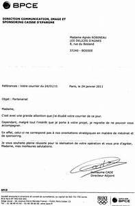 Lettre Demande De Sponsoring : enfin une r ponse de mes lettres de demande de sponsoring les delices d agnes ~ Medecine-chirurgie-esthetiques.com Avis de Voitures