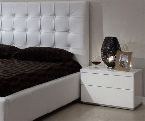 Stands Bedroom by White Gloss Finish Athens Stand For