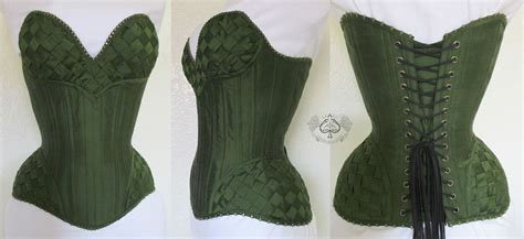 Overbust Corset Created By Anachronism In Action For A