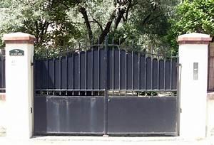 Portail En Fer Lapeyre : portail en fer ~ Premium-room.com Idées de Décoration
