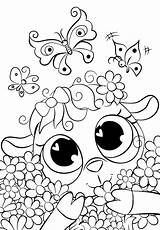 Coloring Pages Cute Lamb Cuties Bojanke Daisies Sheets Preschool Bonton Animal Printables категории из все раскраски Bontontv Slatkice Printable sketch template