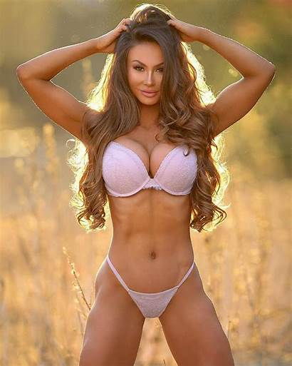 Peachie Michie Fitness Bikini Peachy Asian Blonde