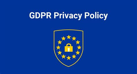 Gdpr Ready Template For Charities