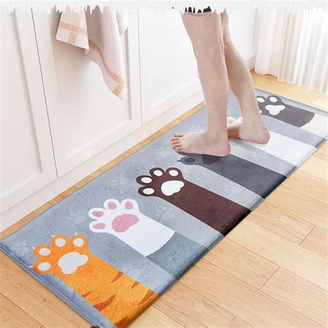 floor mats living room welcome floor mats animal cat printed bathroom kitchen carpets doormats floor mat for living