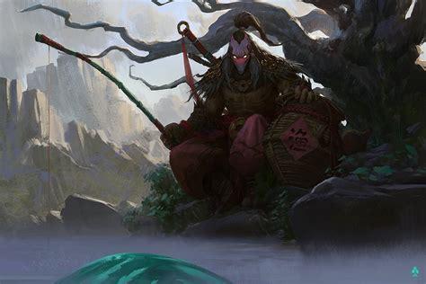 cerita  hero hero dota  juggernaut  samurai