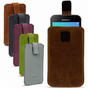 Smartphone Tasche Leder : leder tasche samsung galaxy xcover 4 smartphone handy h lle cover pull tab ledertasche case ~ Orissabook.com Haus und Dekorationen