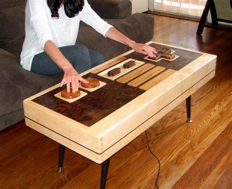Nintendo Controller Coffee Table The Ultimate Game Room