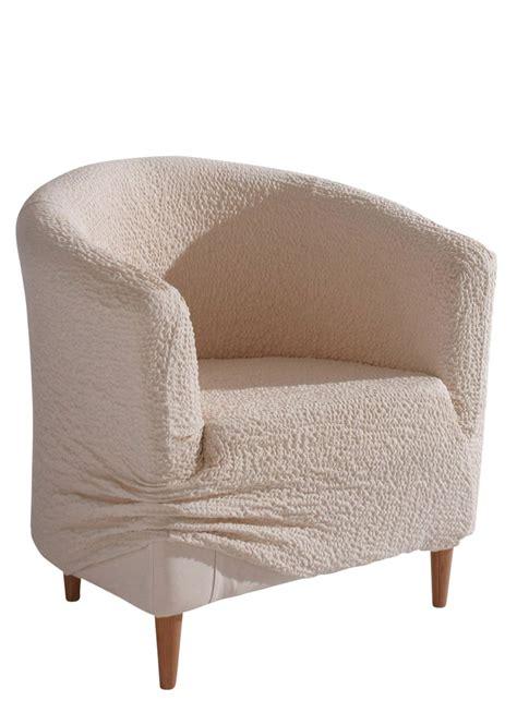 housse de fauteuil froissee creme maison bpc living