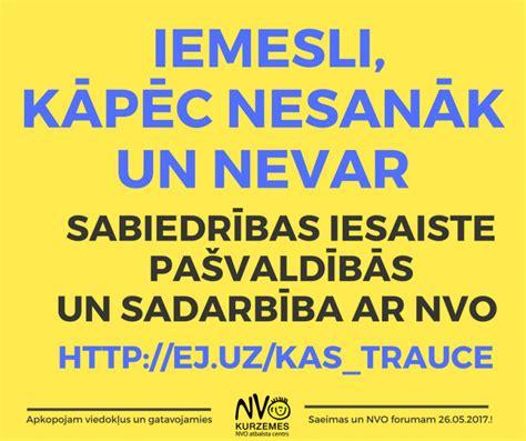 Sniedz viedokli, palīdzi sagatavoties Saeimas un NVO ...
