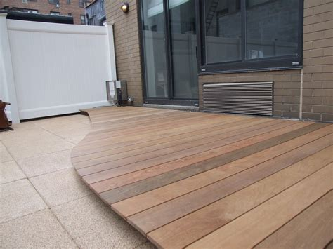 Tile Tech Ipe Pavers by Ipe Decks Are The Most Weather Resistant All Decked Out