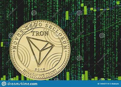 Tron Crypto Trx Coin Cryptocurrency Matrix Chart