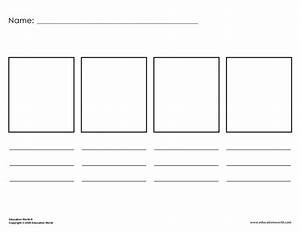 Free Printable Storyboard Template  Download Free Clip Art