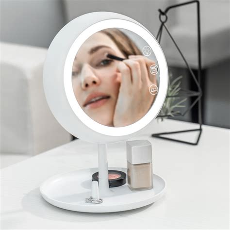 best light bulbs for applying makeup this smart mirror provides the perfect light for makeup