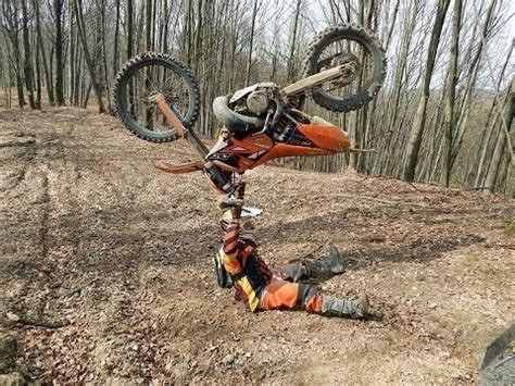 worlds  brutal funny dirt bike crashes broken bones