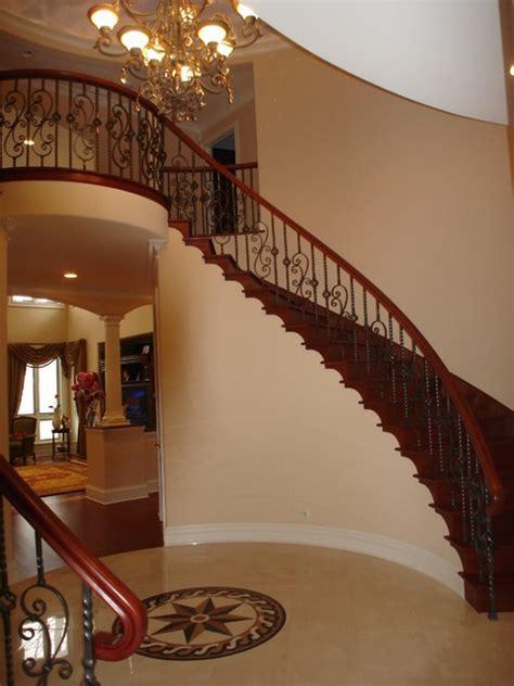 splendid  classy mediterranean staircase designs