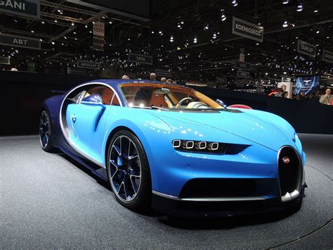 The bugatti chiron is meant to be the strongest, fastest, most luxurious and exclusive serial supercar in the world. Bugatti Chiron - Wikipedia