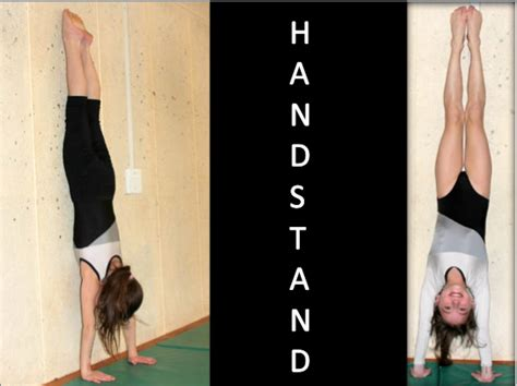 How to Teach a Handstand in Gymnastics|Teaching Handstands ...