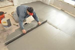 how to level a kitchen floor before adding ceramic tile With how to level kitchen floor